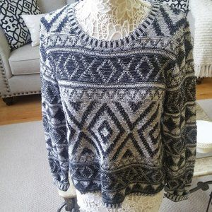 BEAUTIFUL Lucky Brand SWEATER SZ L
